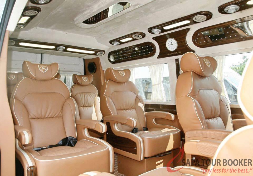 Lumousine bus Noibai - Sapa